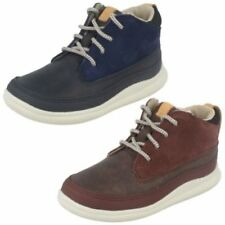 Leather Zip Casual Shoes for Boys