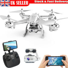 Drone 1080P WiFi FPV Adjustable Camera Quadcopter Aircraft RC Fly Wide-Angle UK