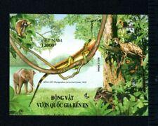 N.952-Vietnam – IMPERF-Block - Animals in Ben En national park 2006 Rare