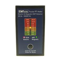 EMFields PF5 Pocket Electric Magnetic Field Detector EMF Meter Gaussmeter