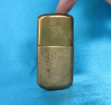 Collectable Antique WWI Period Brass Trench Lighter. Repair # 3