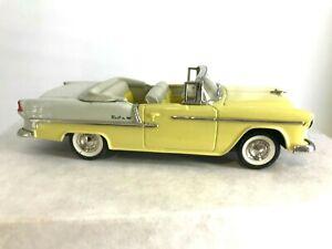 Collector's Classics 1:43 1955 Chevrolet Bel Air Convertible with COA