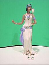 LENOX LADY BLUE 20's Fashion figurine NEW in BOX with COA African American Ebony