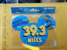 Run Wdw Walt Disney World Marathon Weekend Car Magnet 2019 Nip Goofy's Challenge
