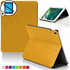 Amarillo Carcasa Tipo Concha Funda Smart Apple iPad 9.7 2017 A1822 Scrn Prot