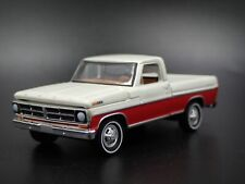 1972 72 FORD F100 SHORT BED PICKUP TRUCK W/ HITCH 1:64 SCALE DIECAST MODEL CAR