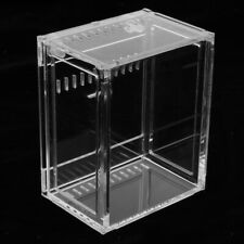 Small Acrylic Clear Reptiles Terrarium Container for Lizard Chameleon Snake