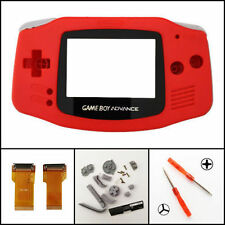 Nintendo Game Boy Advance Cable Frontlight Frontlit Adapter AGS 001 Red Mod Kit