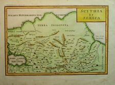 Antique Map of Siberia by Christoph Cellarius 1789