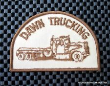 """DAWN TRUCKING EMBROIDERED SEW ON ONLY PATCH ADVERTISING UNIFORM 3 7/8 x 2 1/2"""""""