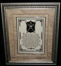 New! The Whole Armor of God,Bible Scripture Plaque,Christian,Christmas Gift $220