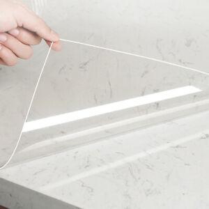 Selbstklebende Klebefolie transparent 5M Möbelfolie Spritzschutz Anti-Öl Fliesen