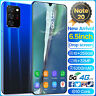 6.5inch Android Note20+ Unlocked Mobile Smart Phone 1 Core  WiFi 5G GPS 10+256GB