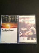 THE CARDIGANS 2 New Old Stock cassette GRAN TURISMO FIRST BAND ON THE MOON