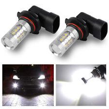 2x H11 80W 16-SMD Super Bright Auto LED Fog Light Driving Bulbs 6000K Cool White