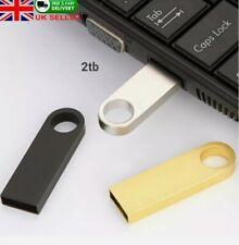 2tb (2000gb) Mini Metal USB 2.0 Memory Stick Flash Thumb Pen Drive USB drive