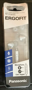 Panasonic RP-TCM125, InEar Buds w/Mic Remote, For Smartphone, Brand New Sealed