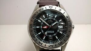 Rare JAL Japan Airlines Seiko T1861-0010 VF56=8F56 Perpetual GMT HAQ Watch