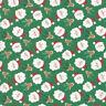 Abi Hall Jolly Season Santas Spruce Green 35340 13 Moda Quilting Cotton Fabric
