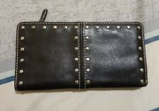 Preloved Authentic Michael Kors Leather Studded long Wallet LOW BID! SALE