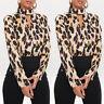 Womens Chiffon V Neck Long Sleeve Tops T Shirt OL Ladies Casual Loose Blouse Tee