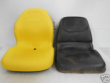 YELLOW HIGH BACK SEAT FOR JOHN DEERE JD 655, 755, 855 & 955 COMPACT TRACTOR #CF