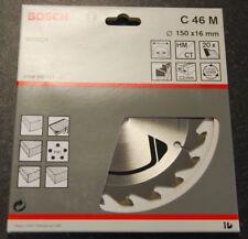 Bosch TCT Circular Saw Blade 150 X 16mm 20t - C 46 M