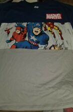 NWT Marvel Comics classic Avengers comic panel art boys t-shirt size XL COTTON