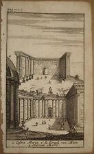 stampa antica old print foro nerva augusto cesare roma kupferstich