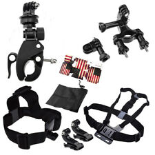 Accessories For GoPro Hero 1 2 3 3+ 4 Camera Chest Head Mount Suction Handlebar