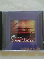 "MARIMBA SONORA QUETZAL ""CON MUCHA ALEGRIA ""MUSIC FROM GUATEMALA TRADITIONAL CD"