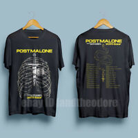 Post Malone Beerbongs & Bentleys Tour 2019 Men's Black T-Shirt Size S-XXL
