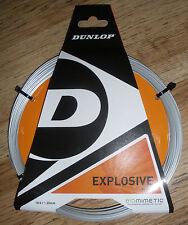 Dunlop Biomimetic Expolsive Power 18g 1 Set Grey Tennis String Brand New