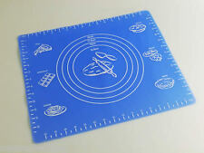SMALLER *BLUE* Silicone Pastry Rolling Work Mat Fondant / Sugarcraft Mould Mold