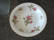 Vintage FLORAL PARK MOSS ROSE Japan SOUP BOWL 7 3/4""