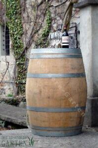 Chêne massif original tonneaux BARRIQUE 225 L tonneau de vin - meubles de jardin