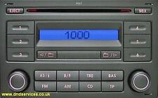 VW Refurbished Stereo Radio MP3 CD - RCD 200 - Golf Polo