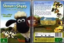 SHAUN THE SHEEP =SHAPE UP WITH SHAUN Wallace Gormit NEW (Region 4 Australia)