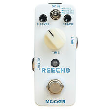 Mooer Reecho Delay Effect Pedal True Bypass Electric Guitar Effects