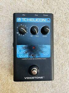 NEW TC-HELICON Singles VoiceTone C1 Vocal Pedal Vocoder Correction T-Pain