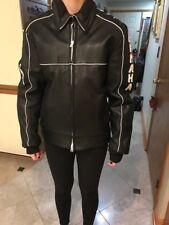 Yamaha leather snowmobile / motorcycle jacket vintage