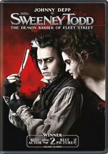 Sweeney Todd: The Demon Barber of Fleet Street (DVD, 2013) Johnny Depp NEW