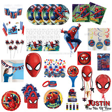 Marvel SPIDERMAN Boys Birthday Party Ware Children Decorations Balloon CLEARANCE