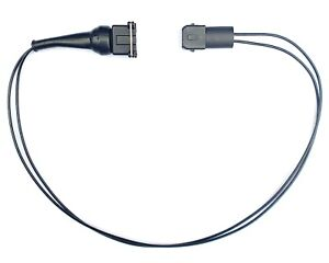 EV1 2 Pin connector extension kit. Male to female 500mm.