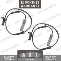 2X ABS SPEED SENSOR for BMW 3 SERIES E81 E82 E87 E88 34526762465 FRONT L & R