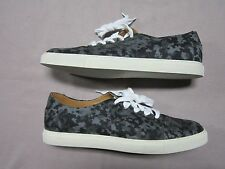 KURT GEIGER BLACK DIGI CAMO LACE UP SNEAKERS SHOES SIZE 10 NEW MADE IN ITALY