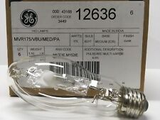 New listing Ge 12636 - Mvr175/Vbu/Med/Pa 175 watt Metal Halide Light Bulb - Hid Multi-Vapor