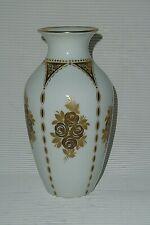 Hutschenreuther Porzellan Vase Modell 158/17 Höhe 17,5 cm Golddekor