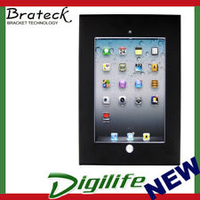 Brateck Wall Mount Anti Theft Secure Enclosure for iPad 2, 3,  4, Air, Air 2