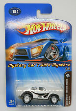 MOMC Hot Wheels 2005 Mystery VW Bug White Real Riders Volkswagen Bug +C9.5